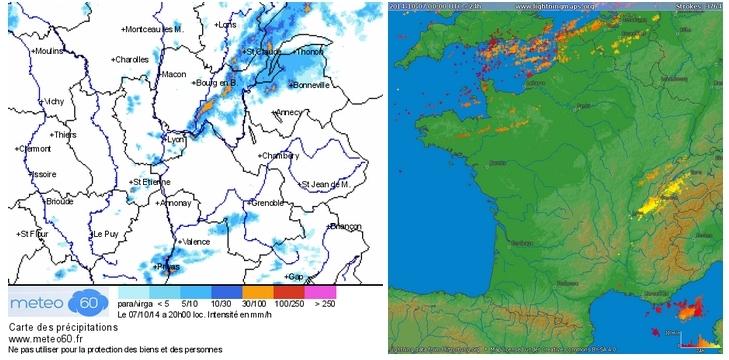 images radar pluies